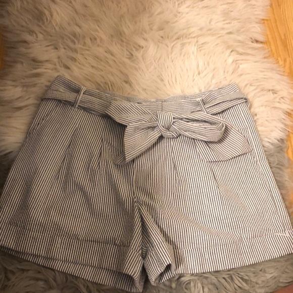 Lauren James Pants - lauren james seersucker bow shorts